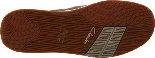 Clarks Mens Cayuga Spets-up Oliv