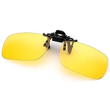 Gafas de sol AOLVO con clip, lentes polarizadas sin bordes ...