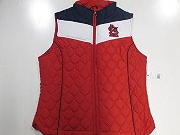 wholesale dealer 48dcf 9de8e Saint Louis Cardinals Womens Large Embroidered Full Zip ...