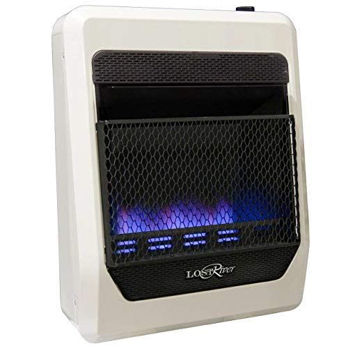 Lost River LRT20B-LP Gas Heater, Medium, White