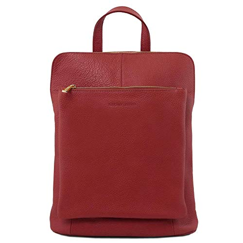 Size Bag Leather Women's One Tuscany Shoulder Tl141682 Red Fqvv0