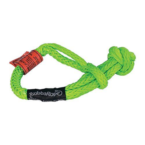 52,300LB Breaking Strength Green /& Black Bubba Rope Gator-Jaw 176745PRO Synthetic Soft Shackle