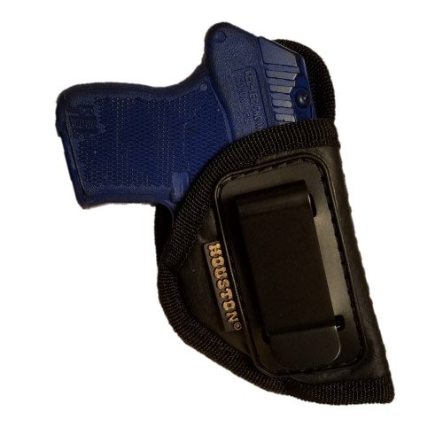 ECO LEATHER Concealment Gun Holster Inside The Waist With Metal Clip (right) Most small 380, Keltec, Ruger LCP, Diamond Back,Small 25 & 22 CAL (CHP-71A-RH) (Magazine Raven 25)