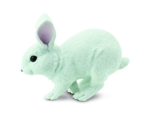 (Safari Ltd. White Bunny - Realistic Hand Painted Toy Figurine Model - Quality Construction from Phthalate, Lead and BPA Free Materials - For Ages 3 and Up)