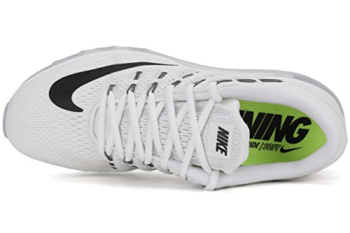 De Max Chaussures 2016 Multicolore Hommes Noir Course blanc Sommet blanc Air Blanc Noir dpqIxawa