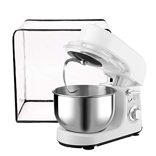 Kitchen Stand Mixer Cover, Clear Coffee Maker Appliance Cover, Waterproof Thicken Protector for KitchenAid Mixer 16.5