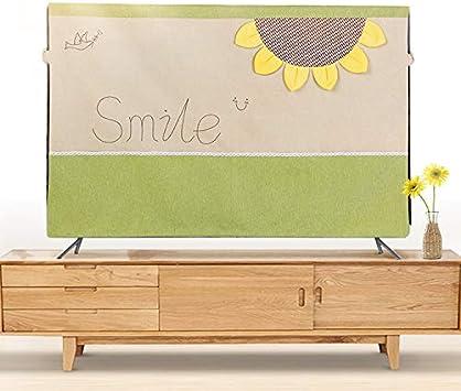 Funda Protectora contra el Polvo para televisores de 42 a 50 Pulgadas, para jardín Rural, LCD,