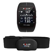 Polar M400 HR - Reloj de entrenamiento con GPS integrado y registro de actividad con sensor de frecuencia cardíaca H7
