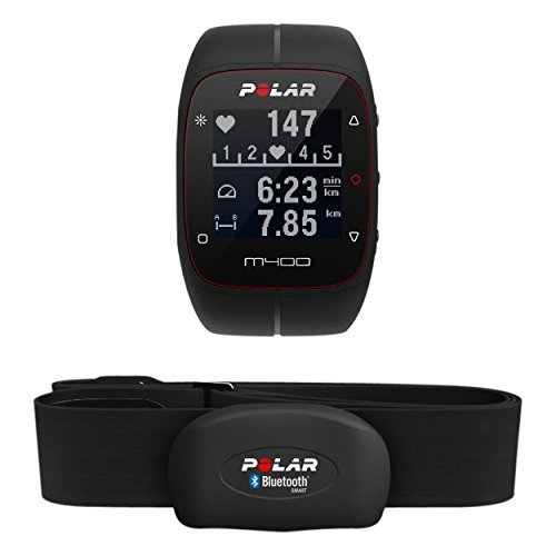 POLAR Trainingscomputer M400 HR, Schwarz, 90051341