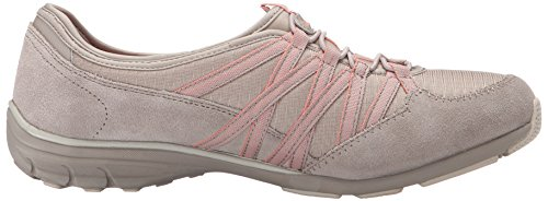 Skechers Sport Dames Conversaties Charmante Mode Sneaker Taupe / Coral