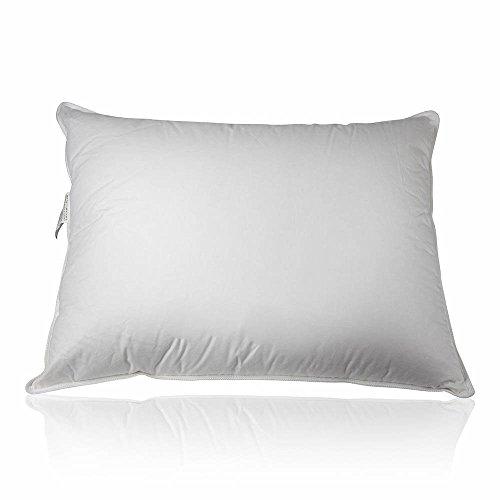 Premium 100% White Goose Down Firm Pillow, Standard Size