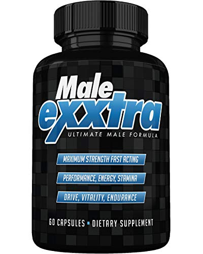 Male Exxtra Ultimate Enhancing Pills - Enlargement Formula Promotes Size