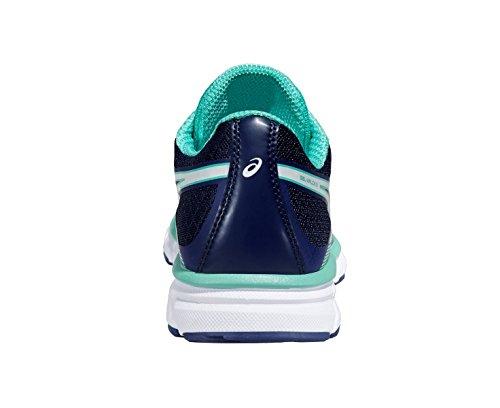 Indigo white Gel Donna Running Blue aqua Xalion 41 Scarpe Asics 3 5 Mint Rq8YxU