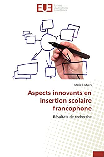Aspects Innovants En Insertion Scolaire Francophone