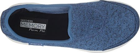 Skechers Dames Gowalk-stitch Slip Op Vrijetijdsschoenen 13801-nvy