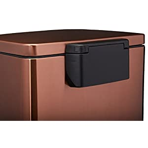 Tramontina 13 Gallon Stainless Steel Step Trash Can - Bronze