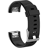 ACUTAS Silicone Band Strap for Fitbit Charge 2 / Fitbit Charge 2 HR (Size : Large)