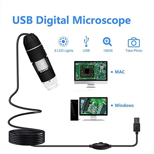 Multifunctional Handheld Digital USB Microscope for Phone Repair Soldering Electron Microscopes Without Bracket Diagnostic Tool