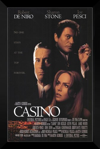 Casino Framed Movie Poster: Robert De Niro