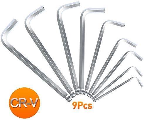 L Shaped Hex Keys Allen Key Wrench Tool M1.5 2 2.5 3 4 5 6 8 10-17 Carbon Steel
