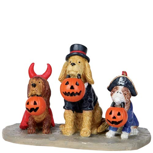 Lemax Spooky Town Halloween Trick or Dog Treats 12887 -