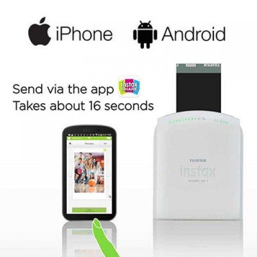 Amazon.com: Fujifilm Instax Compartir Smartphone Portable ...