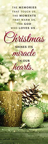 (Christmas Shines Its Miracle (Matthew 28:17) Bookmarks (Package of 25))