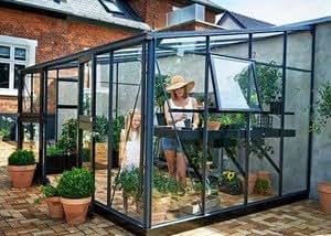 Invernadero de cristal templado Veranda 4,4m²