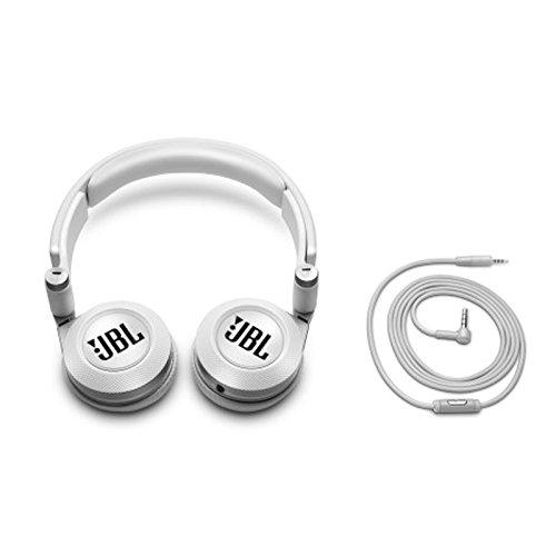 050036321891 - JBL E30 White High-Performance On-Ear Headphones with JBL Pure Bass and DJ-Pivot Ear Cup, White carousel main 2