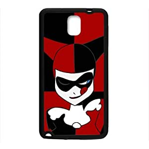 WAGT Black and red joker Cell Phone Case for Samsung Galaxy Note3