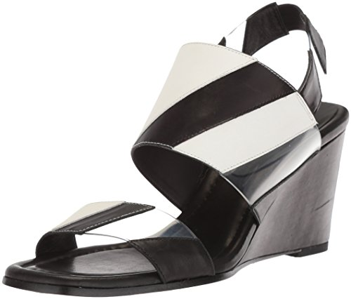 Sandalo Con Zeppa Donie J Pliner Donna Nero