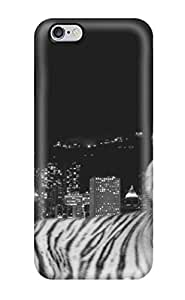 Iphone High Quality Tpu Case/ City Dark Tiger Case Cover For Iphone 6 Plus 4025308K50557453
