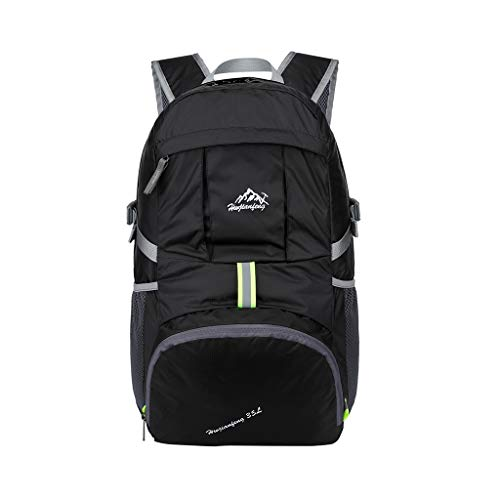Tigivemen 2019 New Mountaineering Bags, Wear Waterproof Sports Outdoor Backpack Light Simple Fold Backpack