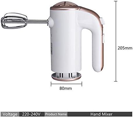 Elektrische Mixer Handheld Elektrische Garde Voor Bakken Turbo Handmixer Voedsel Cake Mixer Blender Voor Eierroom Melkopschuimer, Keukenhulpmiddel (2 Kloppers, 2 Deeghaken)