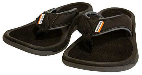 Grundéns Men's Deck Boss Sandal, Black - 9 M US