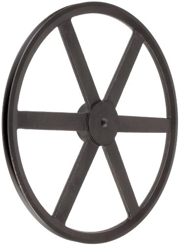 Martin-PB-Plain-Bore-FHP-Sheave-3L4L-Belt-Section-1-Groove-Class-30-Gray-Cast-Iron