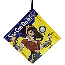DC Comics Justice League (Wonder Woman Bombshell) StarFire Prints Hanging Glass
