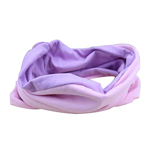Solid Wide Patchwork Cotton Sports Headband For Women Adult Causal Elastic Turban Hairband Headwraps Hair Accessories 8 ()