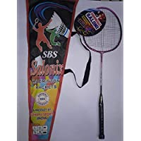 Sidhbali Badminton Rackets with Full Cover Pink