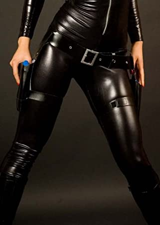 Lara Croft Estilo Negro muslo Holster Set: Amazon.es: Juguetes y ...