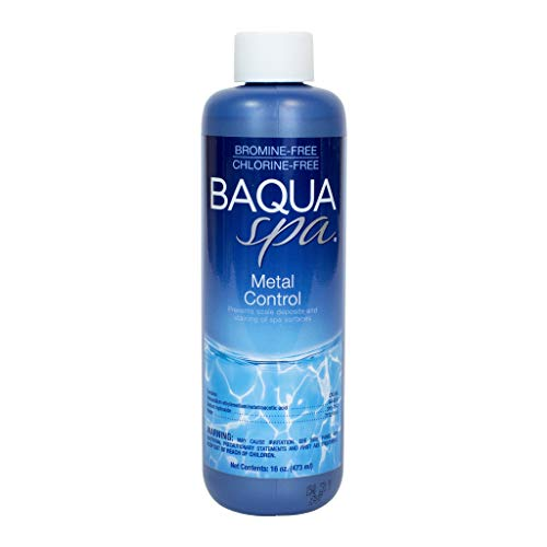 (Baqua Spa 88821 Metal Control Spa Maintenance, Clear)