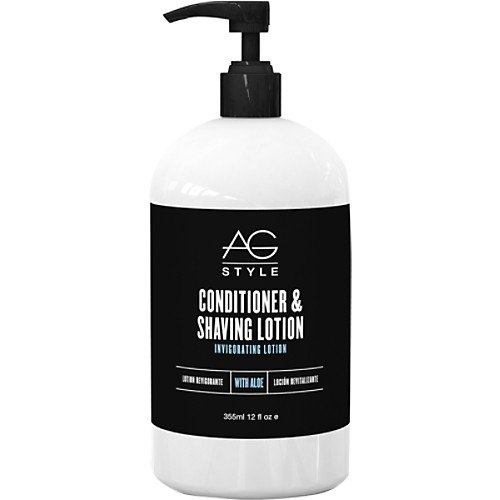 Crystal Ag - AG Hair Conditioner and Shaving Lotion, 12 Ounce