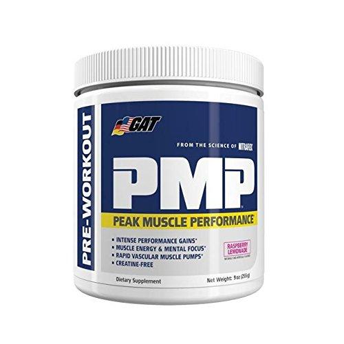 GAT Pmp Supplement, Raspberry Lemonade, 9 Ounce