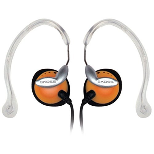 Koss CLIPPERORANGE Clipper Ear Clip Headphones ()