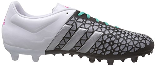 adidas Ace 15.3 FG / AG Mens Soccer Boots / Cleats Black/Silver/White zN55mlRn