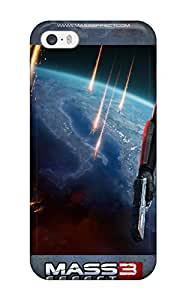 Theodore J. Smith's Shop New Style Iphone 5/5s Case Cover - Slim Fit Tpu Protector Shock Absorbent Case (mass Effect 3 Girl) 6822080K40962541
