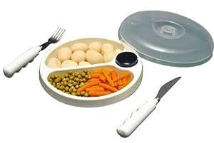 Amazon.com : Stay Warm Feeding Dish/Bowl for Microwave