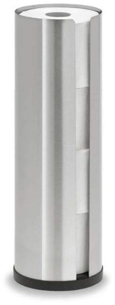 Blomus Toilet Roll Holder, Holds 4 Rolls, Cylinder