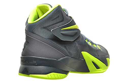 Nike Zoom Soldier VIII 8 Mens Shoes Magnet Grey/Volt-Dark Magnet Grey 653641-070 3OKXX0UV5