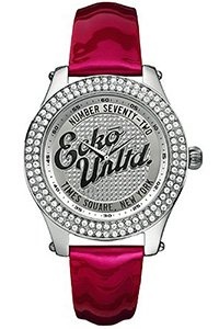 Marc Ecko E10038M4 Midsize Rollie Silver Red Watch - Marc Ecko Unisex Watch